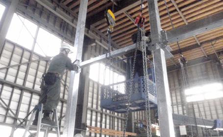 鋼構造物工事について